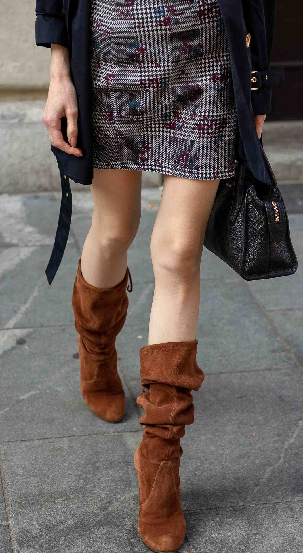 How to Wear Slouchy boots in 2020
