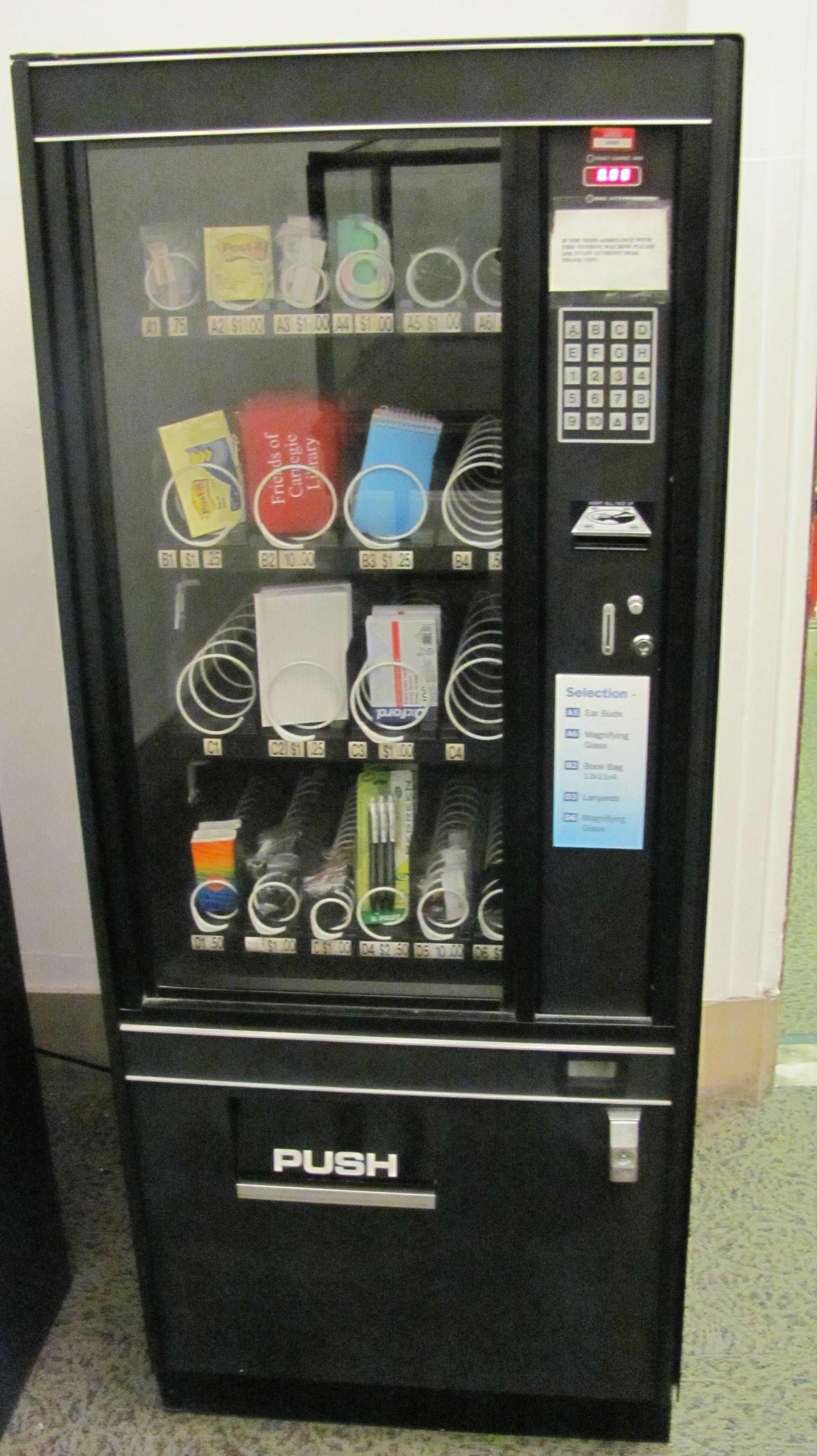 Office Supply Vending Machine Well Why Not Facebook S It Departments Have Keyboards
