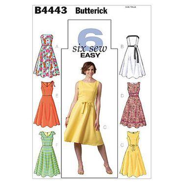 Butterick B4443 Misses\' Petite Dress | Spotlight Australia ...