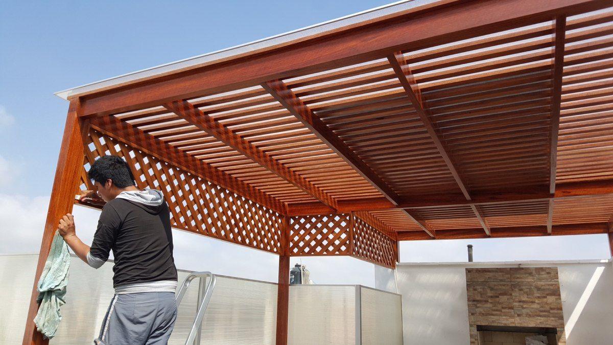 techos de madera sol y sombra buenos dise os hogar ideas. Black Bedroom Furniture Sets. Home Design Ideas