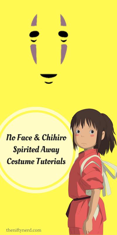 No Face Chihiro Spirited Away Costume Tutorials Spirited Away Costume Costume Tutorial Spirited Away