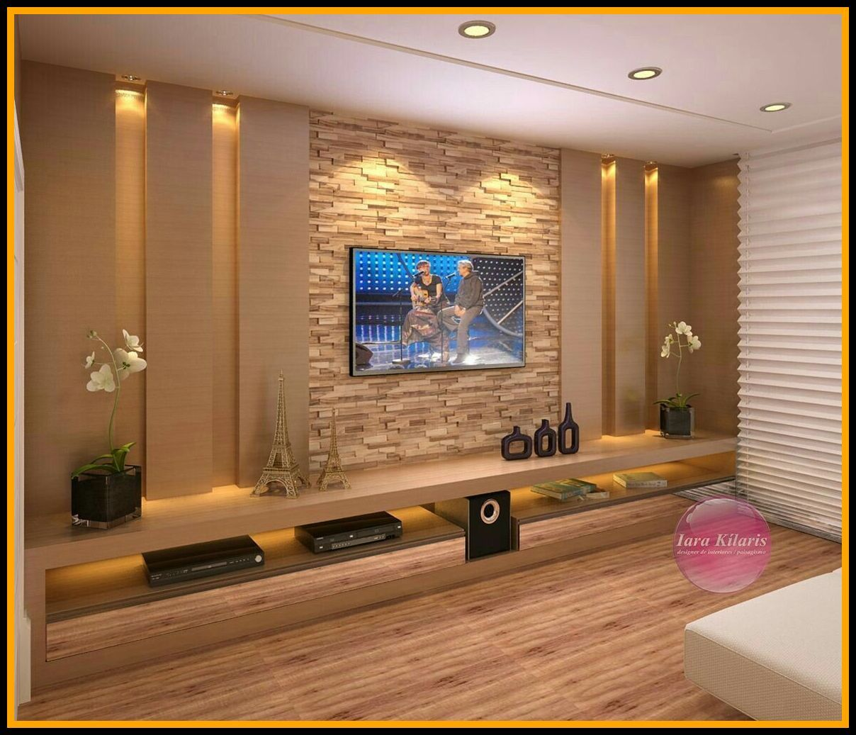 71 Reference Of Modern Tv Wall Design Living Room Wall Decoration Ideas 2019 Tv Wall Design Cozy Family Rooms Tv Wall Decor