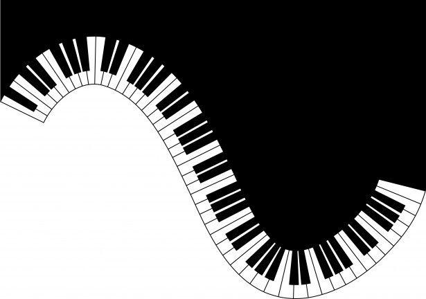 10++ Wavy piano keys clipart info