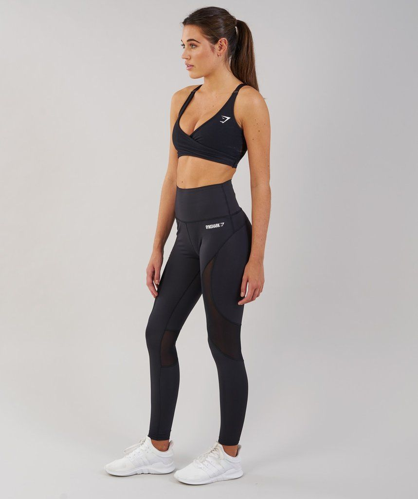 c62f8394 Gymshark Fusion Leggings - Black 2 | fitness | Black leggings, Gym ...