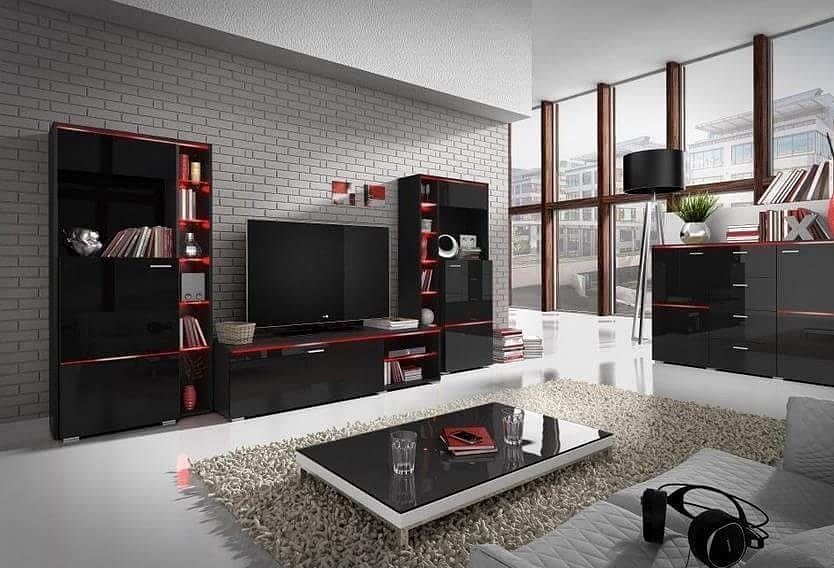 #furniture #wallunit #blackcolor #highquality #highgloss #modernfurniture #chest  Avaliable from: http://ift.tt/1StB7cg by gobiart