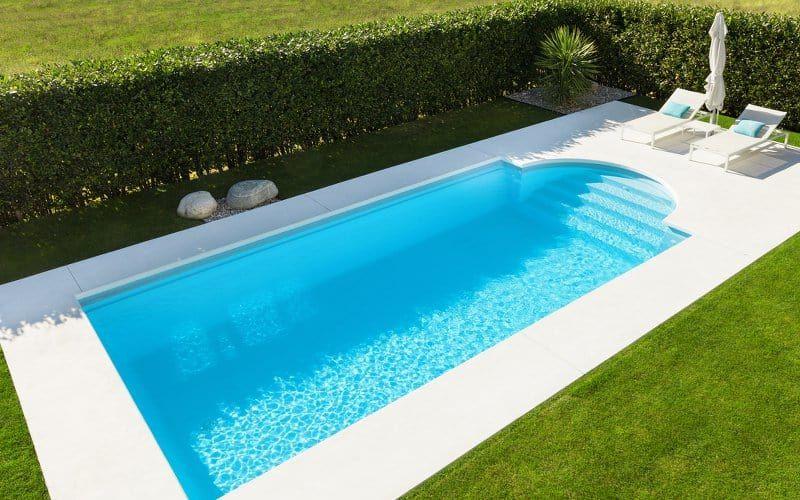 Roman Style Pool Design Classically Cool Pool Pricer Swimming Pools Backyard Pool Designs Geometric Pool