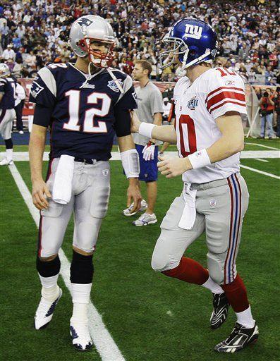 Eli Manning Super Bowl 2007 Eli Manning In The Same Class