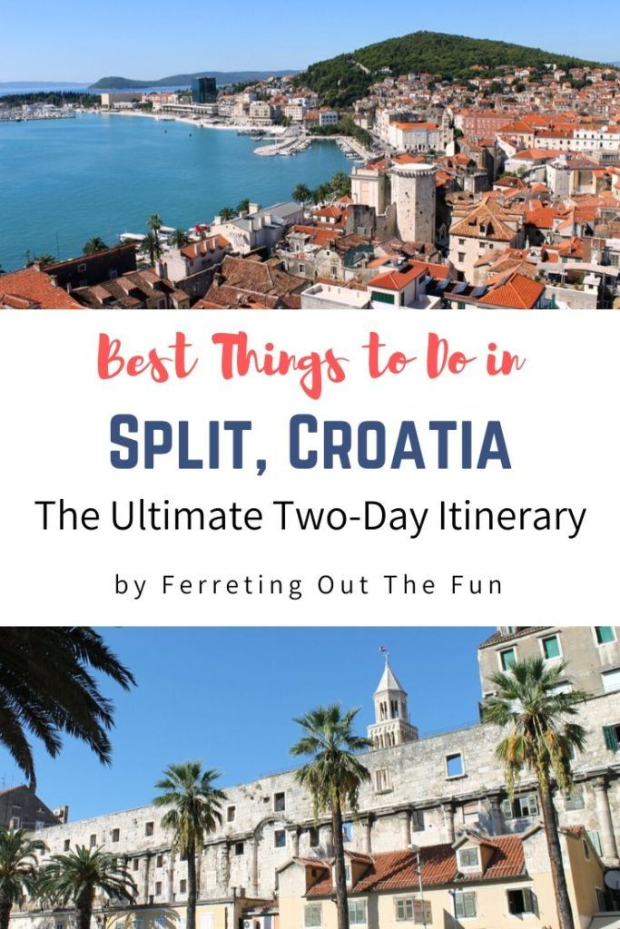 Two days in Split Croatia // The best things to do in Split // #itinerary #traveltips #destinations