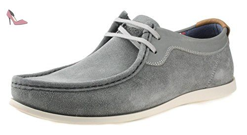 Rouge pour hommes RUBAN Teviot marron marine lacet cuir décontracté Baskets POMPE  chaussures - Bleu marine, 43 - Chaussures red tape (*Partner-Link) | ...
