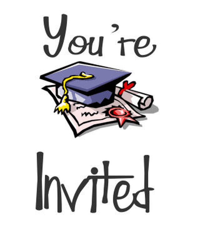 free printable cards for the graduate | free printable graduation, Invitation templates
