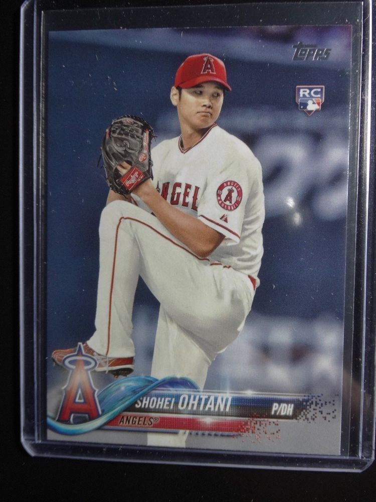 2018 Topps Series 2 700 Shohei Ohtani Angels Rookie Rc