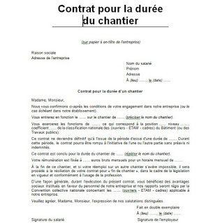 2 Modeles De Contrat De Chantier Doc Cours Genie Civil Www 4geniecivil Com Cours Exercices Modele De Contrat Contrat De Construction Le Contrat De Travail