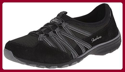 sports shoes d45ec b9679 Skechers Damen Conversations Sneaker, Schwarz (Bkcc), 37.5 ...