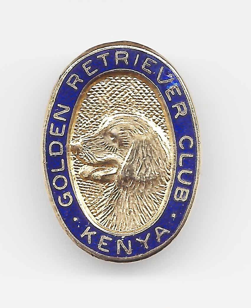 Golden Retriever Club Badge Kenya Club badge, Badge
