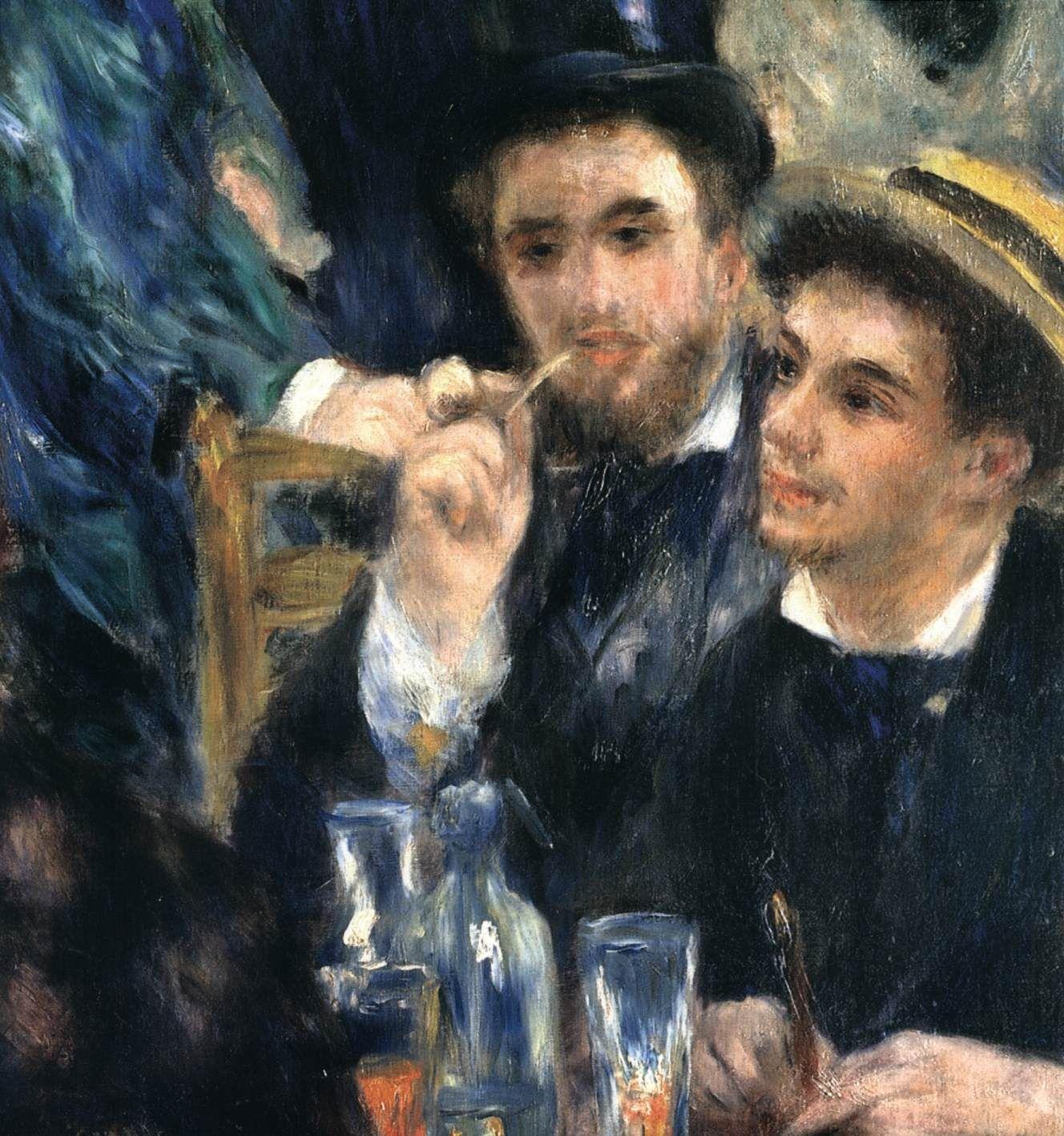 Auguste Renoir Dance At The Moulin De La Galette 1876 Renoir