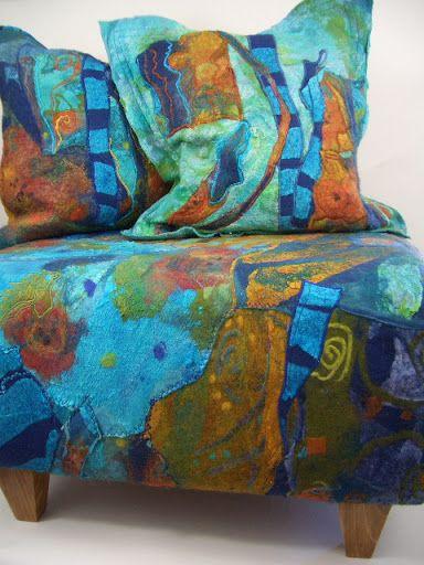 The felted living room - Jean Gauger - Веб-альбомы Picasa