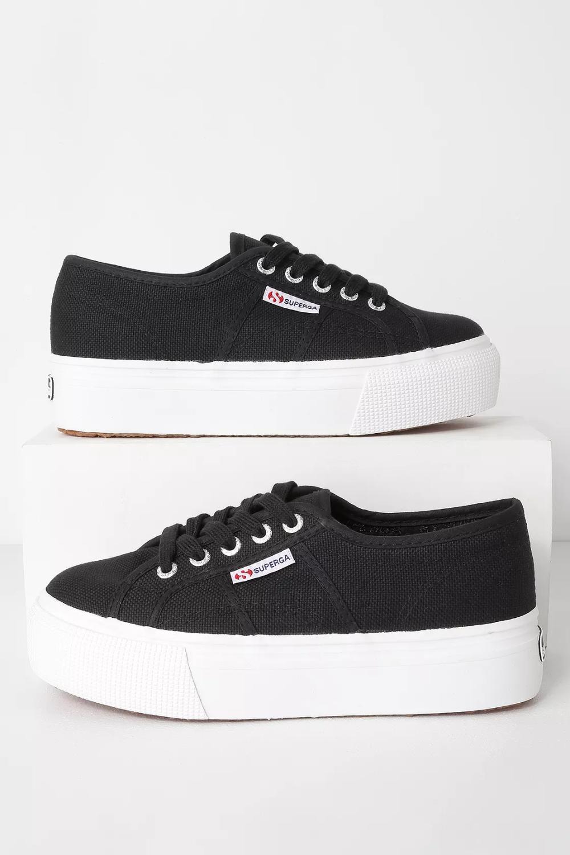 2790 ACOTW Black Platform Sneakers