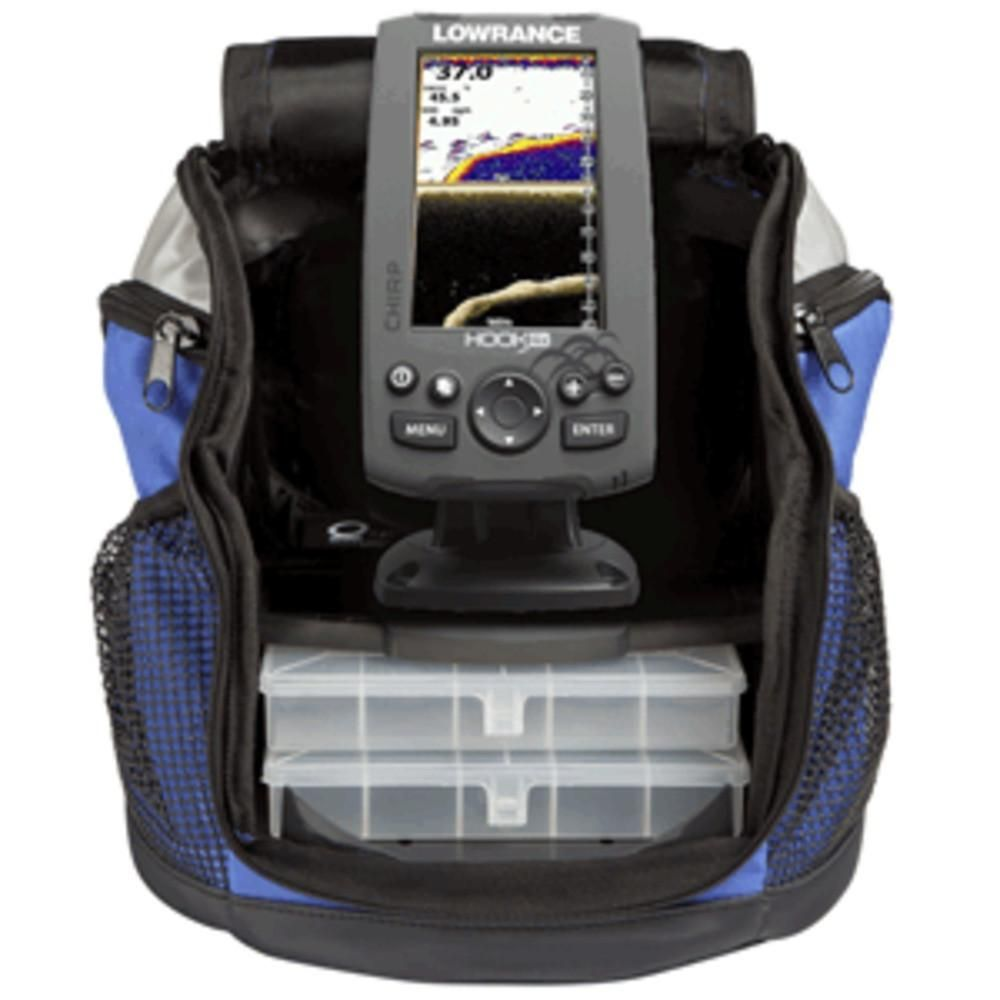 Lowrance HOOK4x Ice Machine w83200 Portable Mount