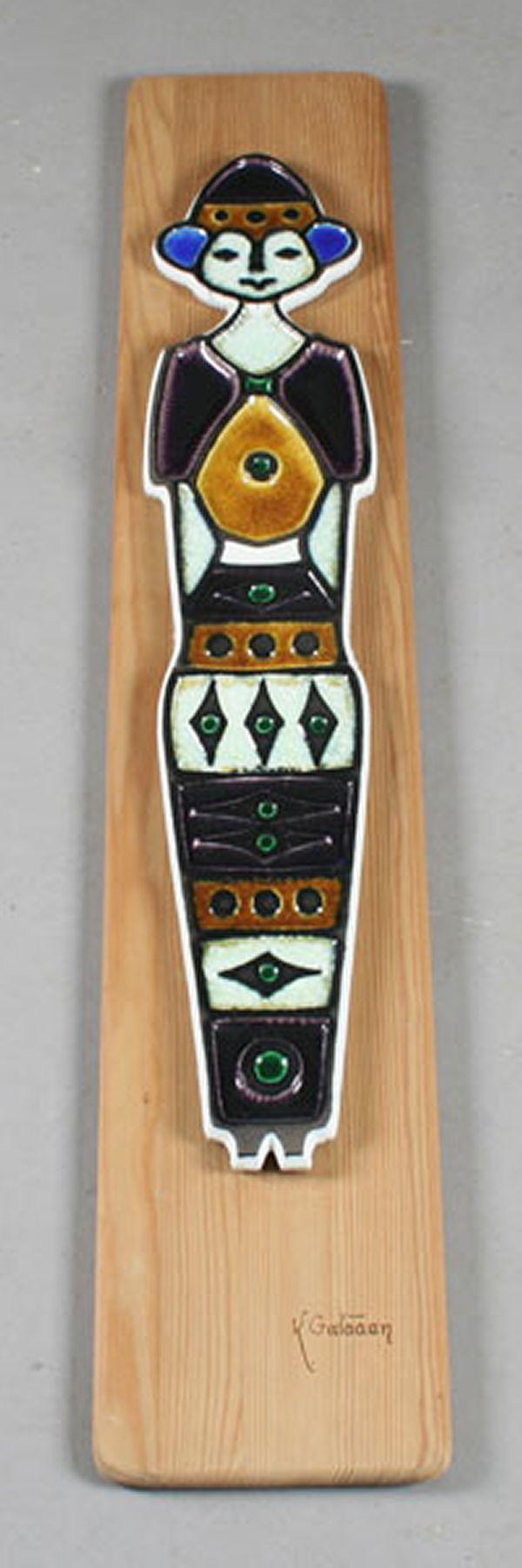 Konrad Galaaen: Inka, H: 77 cm.