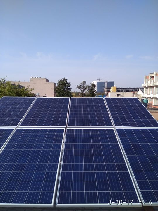 Installation Of 2kw Rooftop Off Grid Solar Power Plant At House No 86 Vpo Badh Malik Rai Sonipat Haryana By Te Solar Panels Solar Energy Solutions Solar Energy