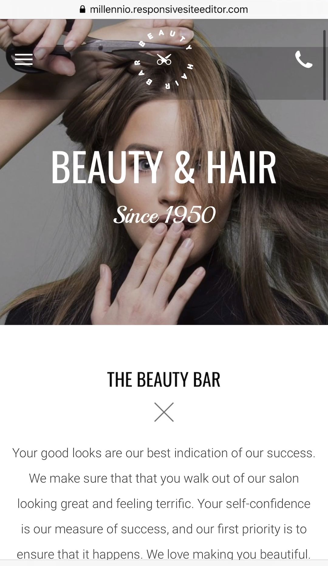 Millennio Design | Wow-worthy Websites for Business Minded Women -   22 beauty Videos salon ideas