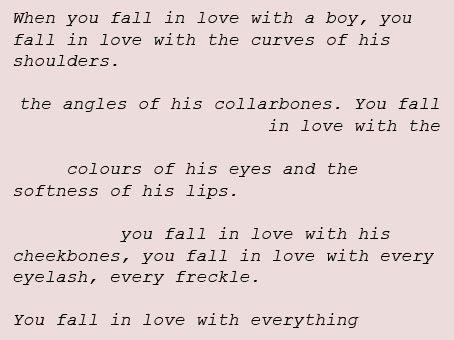 Best Friend Quotes Tumblr I Fell In Love When You Fall In Love