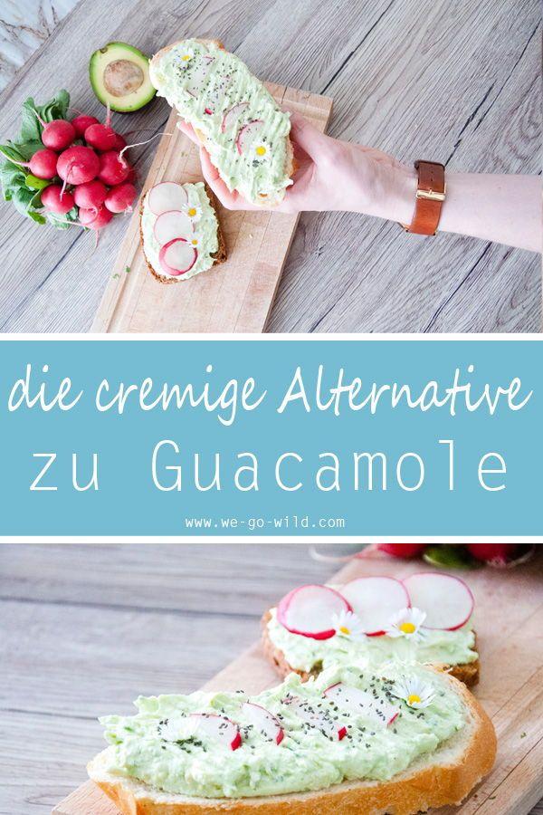 Schneller Avocado Aufstrich mit Frischkäse - WE GO WILD #creamcheeserecipes