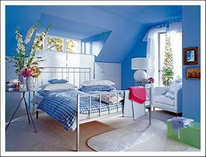 50+ Blue Bedroom Ideas for Women_36 Awesome Bedroom Inspirations
