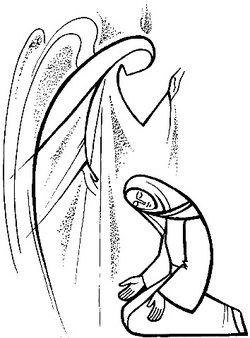 Annunciation La Anunciacion De Maria Arte De Jesus Imagenes Religiosas