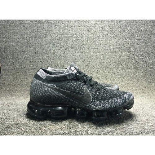 top Quality Nike Air VaporMax Flyknit Custom TRIPLE BLACK AU NOIRE 849558-011