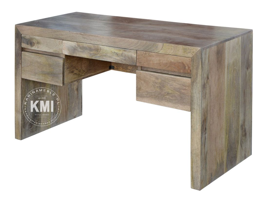 meble indyjskie jasne | biurko Mango LD-435
