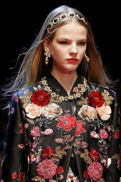 Maryna Horda for Dolce & Gabbana Spring 2018