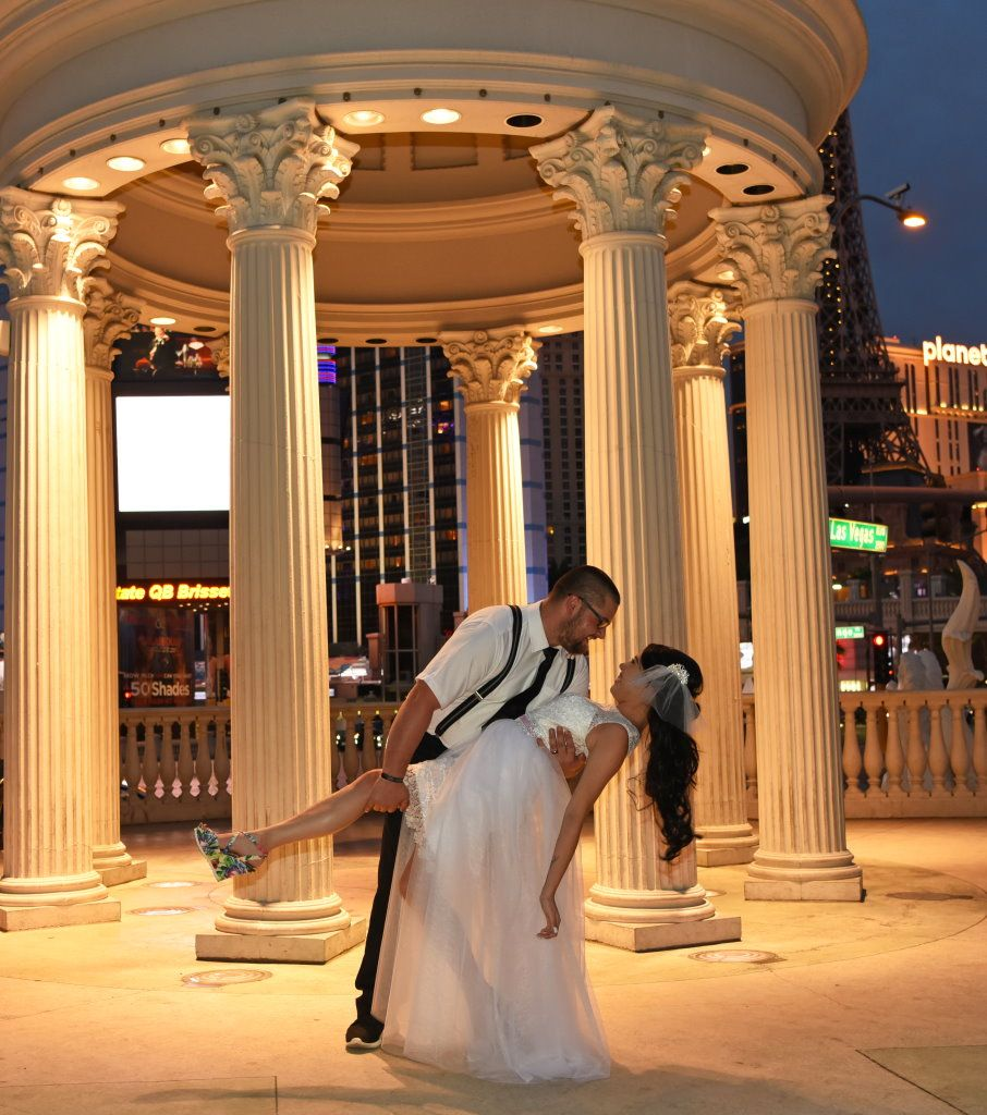 Peter and Amanda as they shared their wedding vows 9-19-16 at Caesars Palace in Las Vegas.  If you are wanting to have a romantic and fun wedding ceremony choose Ceremony to Remember for a lifetime of memories to cherish.