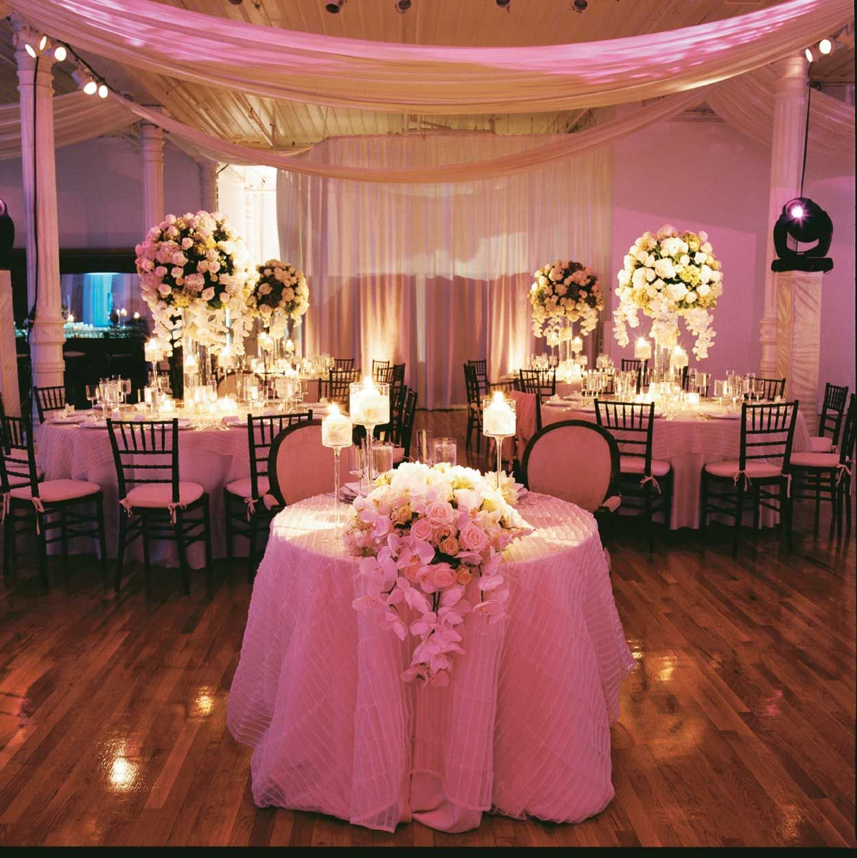 Wedding Decorations For Less: Luxe Wedding Receptions For Less