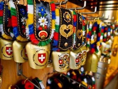 Stock Photo Cow Bell Switzerland Zurich Switzerland
