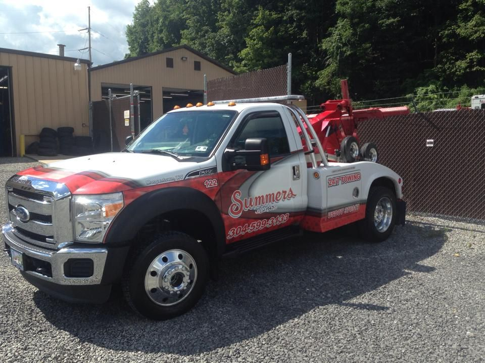 Summers towing wv Tow truck, Monster trucks