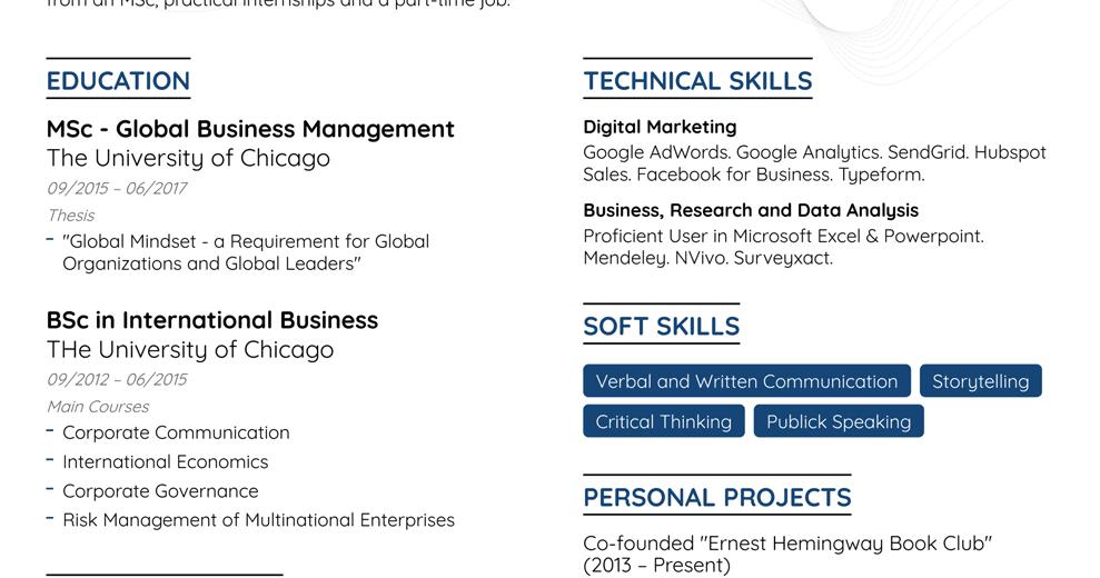 هل مازلت تدرس و تحتاج إلى كتابة سيرة ذاتية للتقديم على وظيفة أو لإنشاء تعريف عنك نقدم لك من خلال هذة المقالة كيف تكتب Global Mindset Hubspot Digital Marketing