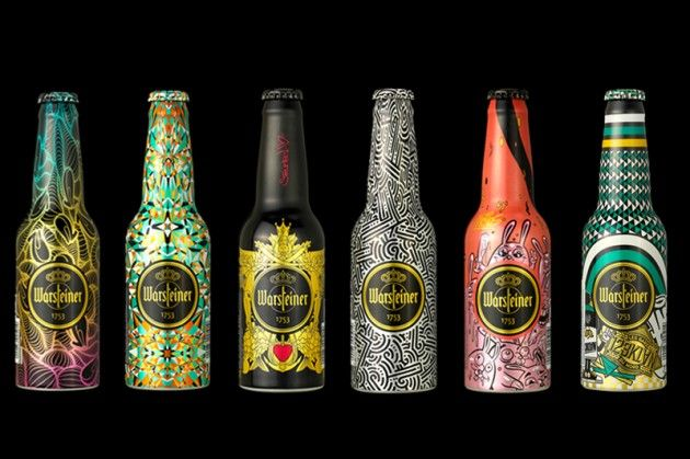 Warsteiner Art Collection Bottles | DESIGN | packaging ...