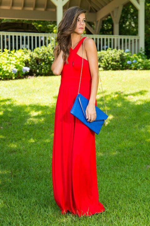 Heat Of The Night Maxi Dress, Red #beauty #datenight #bold