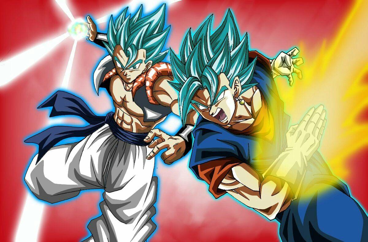 Gogeta Vegetto Ssj Blue Dragon Ball Art Anime Dragon Ball Dragon Ball Gt