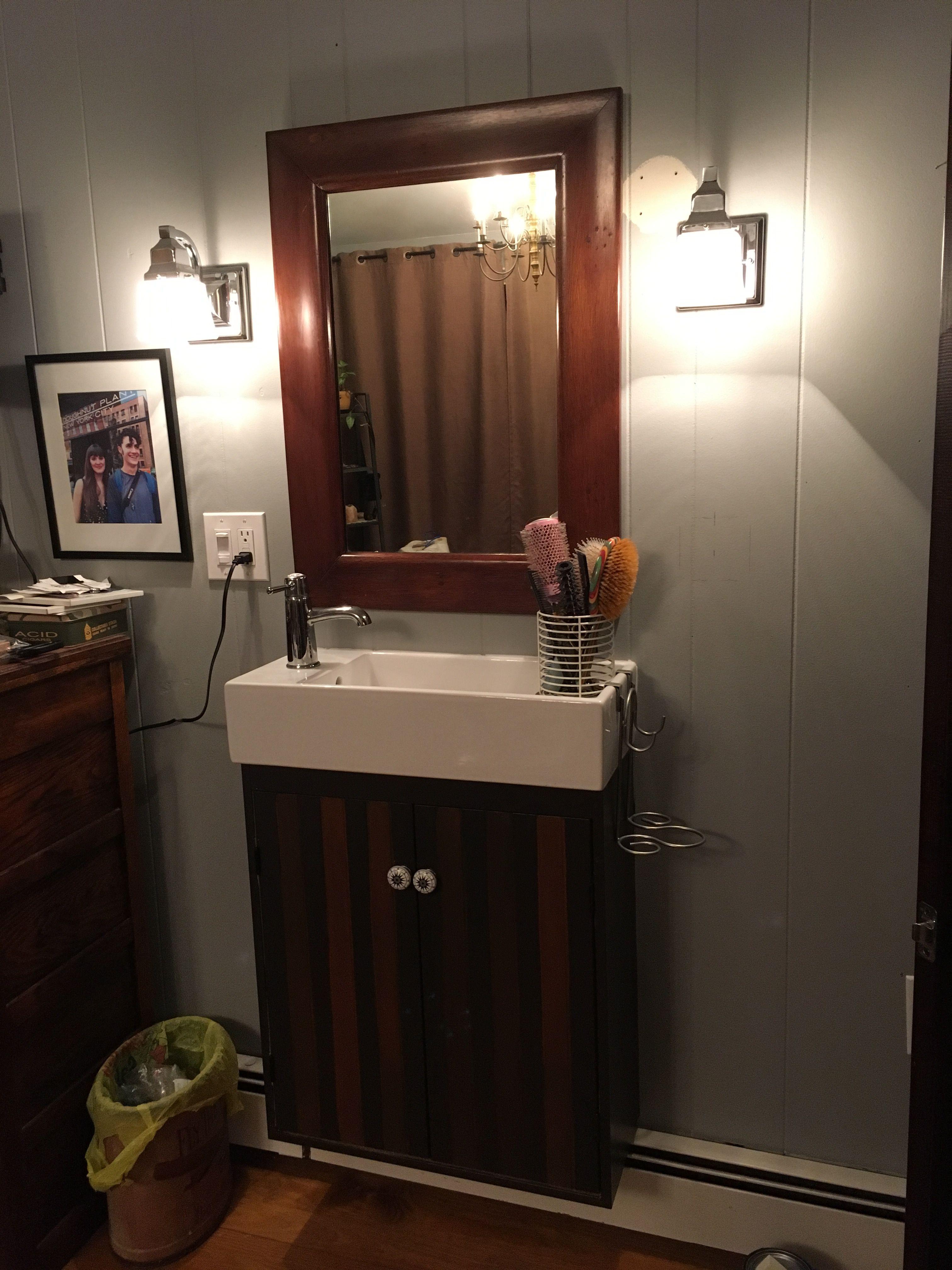 IKEA makeover Ikea Framed bathroom