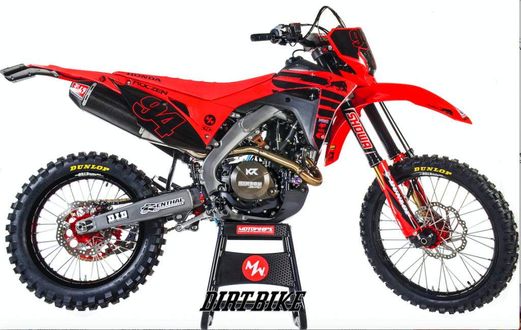 Ken Roczen S Honda Crf450l Dual Sport Project Exclusive First Look Dirt Bike Magazine In 2020 Dual Sport Dirt Bike Magazine Ktm Dirt Bikes