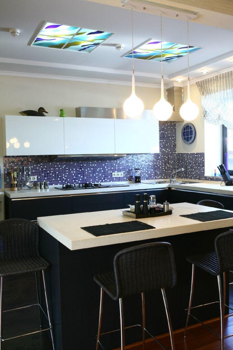 Ideen für die küche in farbe farbe in der küche u  ideen für wandfarben und fronten farbe