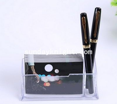 Transparent name card holder with pen holder st 052 your pinterest transparent name card holder with pen holder st 052 colourmoves