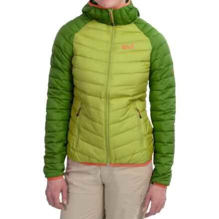 515746c990c Jack Wolfskin Zenon XT Down Jacket - 700 Fill Power (For Women) in Earl  Green - Closeouts