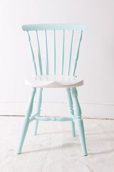 pastel painted wood chairs - Google Search & pastel painted wood chairs - Google Search | صندلی | Pinterest ...
