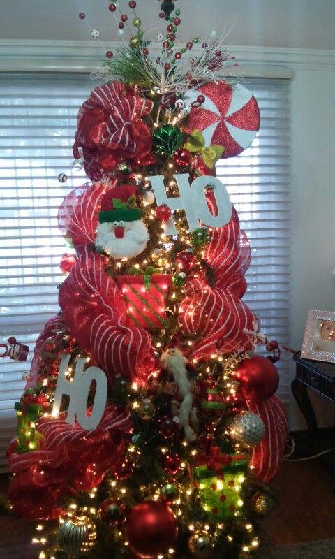 Decoracion de arboles navide os yoga pinterest - Decoracion de arboles navidenos ...