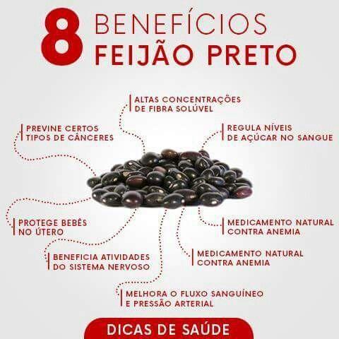 Benefícios do feijão preto