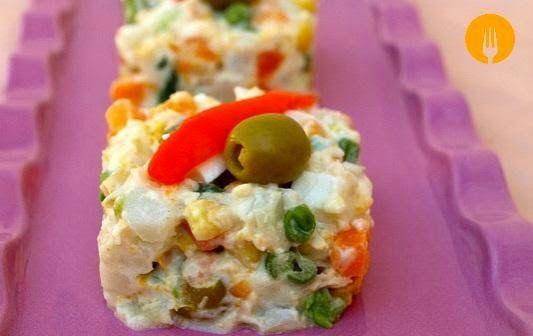 5 Ensaladillas Rusas para alucinar - Recetas de Cocina Casera - Recetas fáciles y sencillas