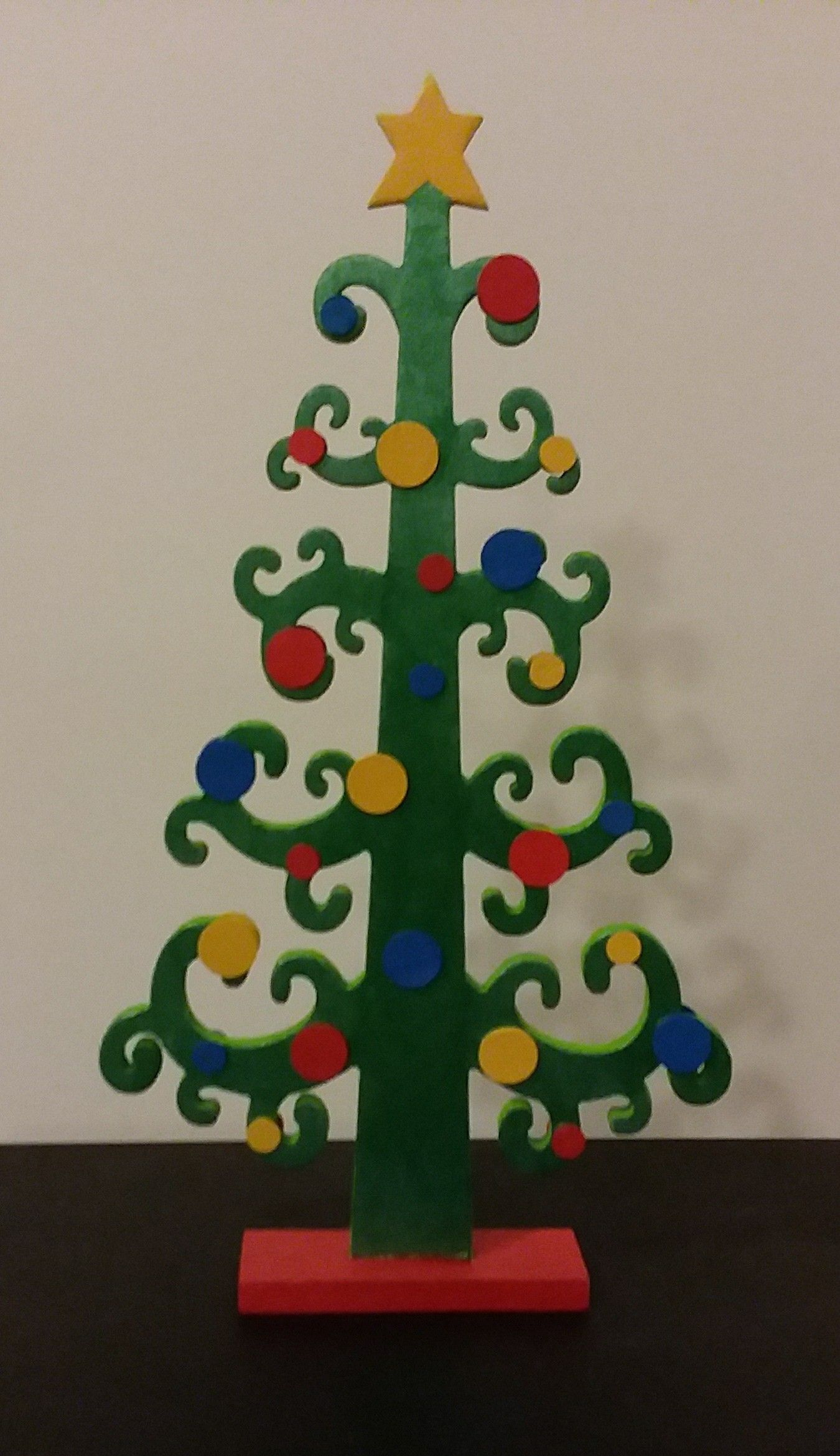 Wooden Tree That I Purchased At Hobby Lobby In 2017 Then Painted